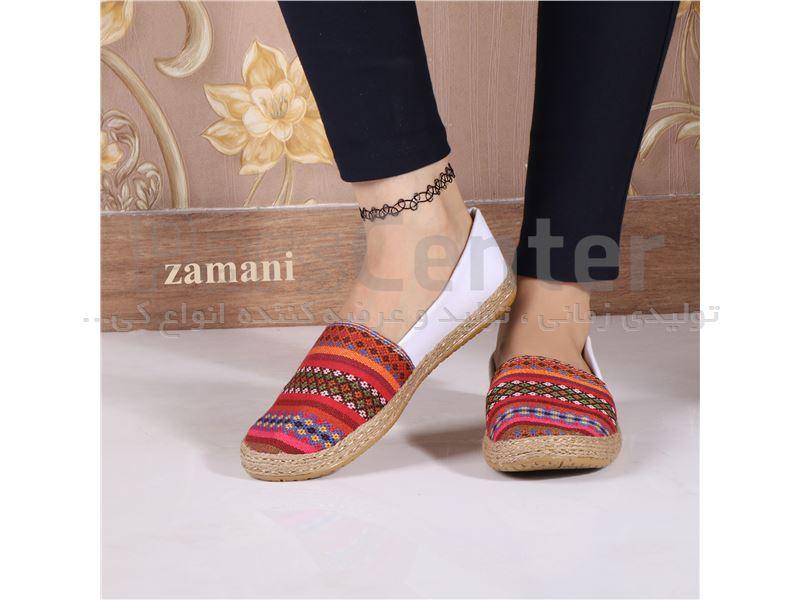 کفش زنانه پارچه ای کد 416