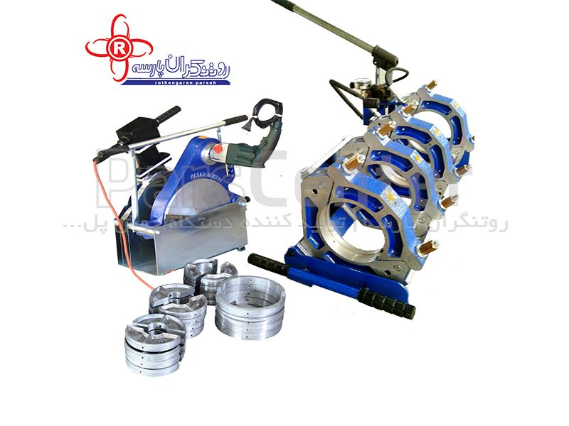 دستگاه جوش پلی اتیلن نیمه هیدرولیک مدل NH90_R250