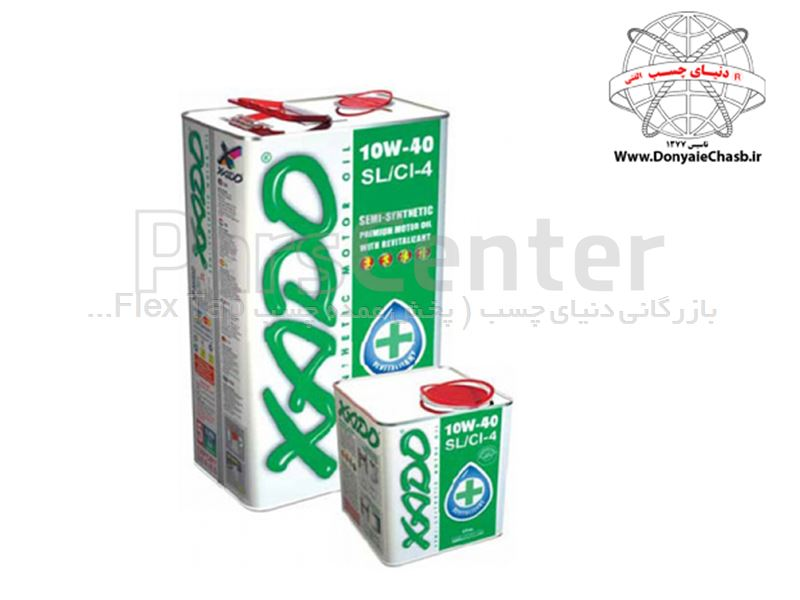 روغن موتور زادو XADO Atomic Oil 10W-40 SL/CI-4 Motor oil of hydrocracking synthesis technology اوکراین