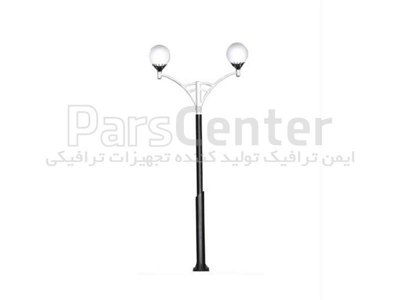 چراغ پارکی دو شاخه مدل ITL-208