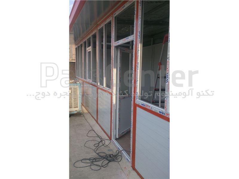 پنجره دو جداره یو پی وی سی T1002