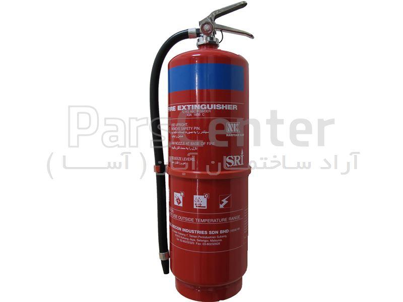 کپسول آتش نشانی پودرخشک 12 کیلویی SRI