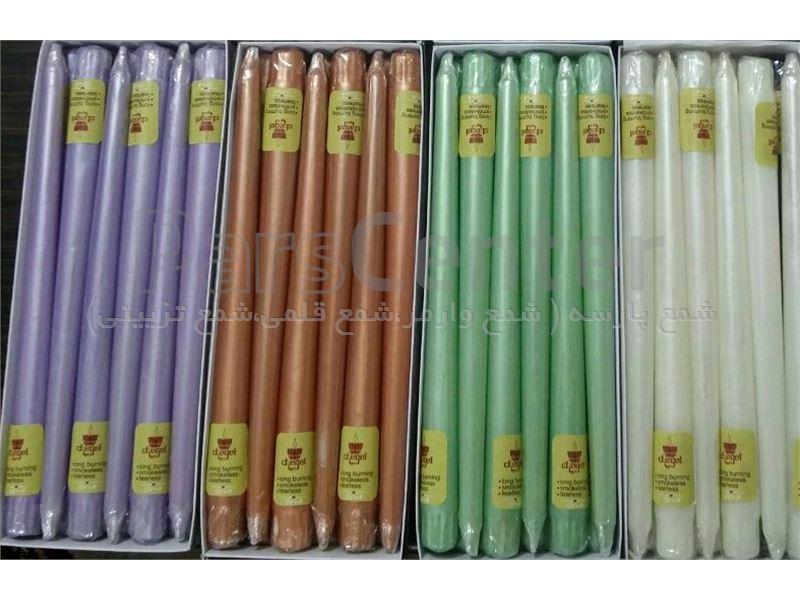 شمع قلمی متالیک 30 سانت