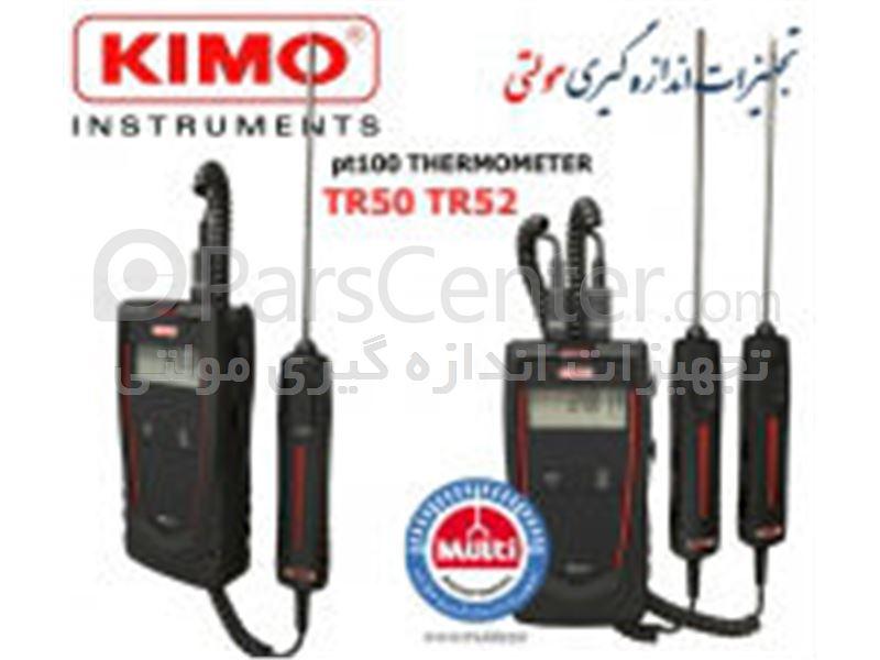 PT100 ترمومتر تک کانال و دو کانال TR50 , TR52