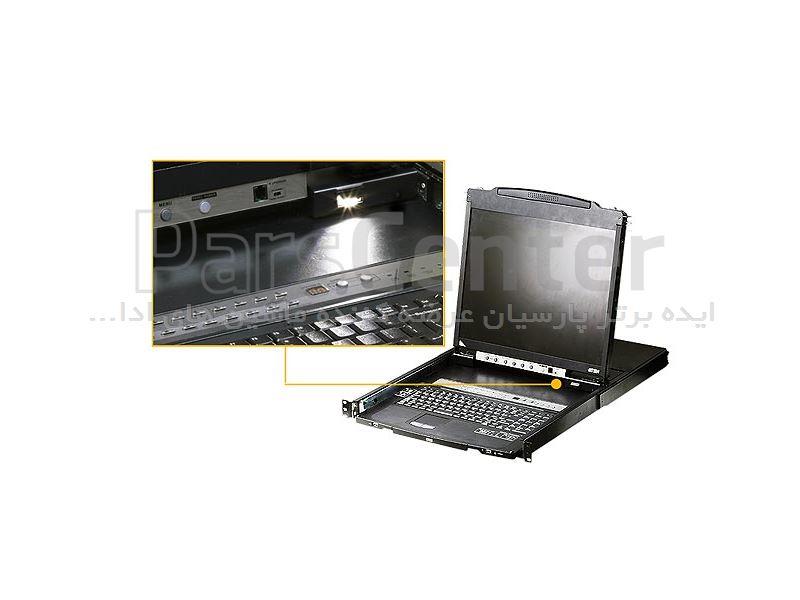 ال سی دی کنسول دراور آتن ATEN LCD KVM switch CL5808