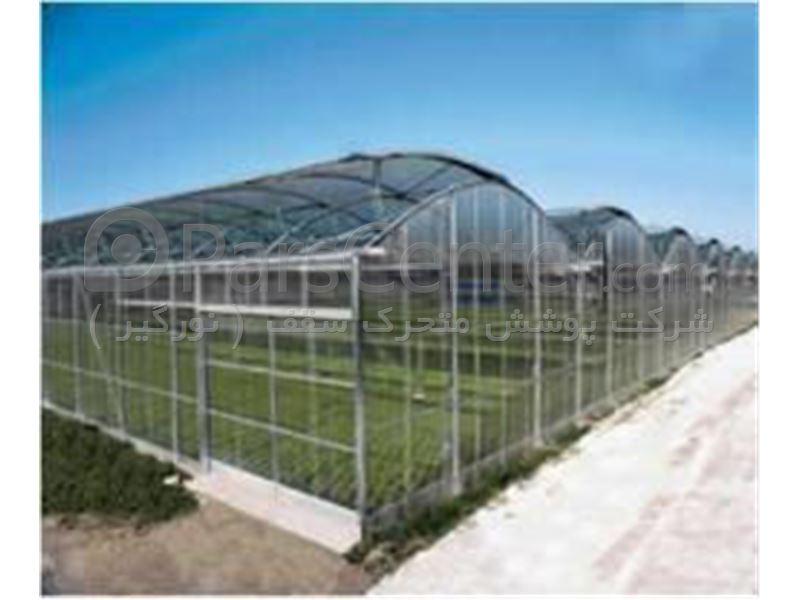 طراحی و ساخت انواع گلخانه