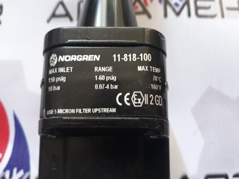 رگلاتور NORGREN مدل 11-818-100