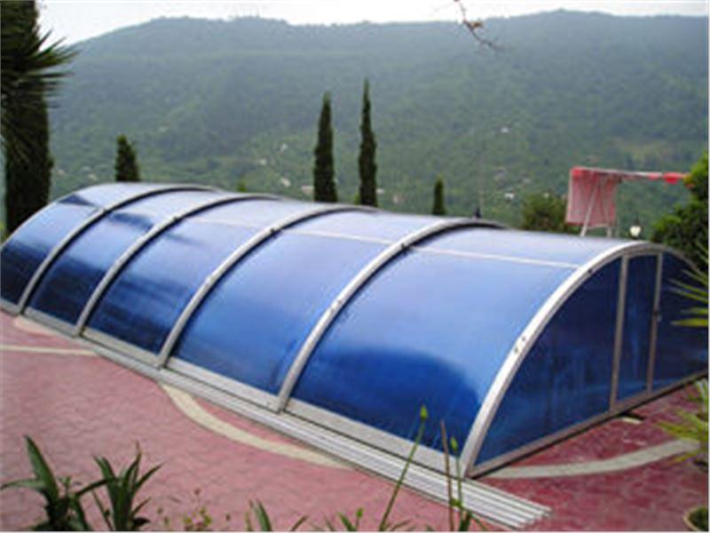 سقف استخر و پوشش متحرک آفالینا تولید کننده پوشش متحرک - پوشش متحرک استخر - انواع سقف متحرک - پوشش رستوران