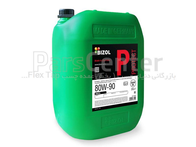 روغن گیربکس بیزول 20L) BIZOL Protect Gear Oil GL4 80W-90) آلمان