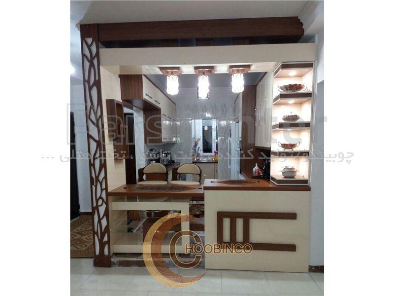 کابینت آشپزخانه و مصنوعات ام دی اف کمجا چوبینکو - مدل k17