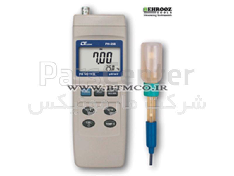 ph/oh متر، اسیدسنج خاک لوترون Lutron PH METER, RS-232 - PH-2088