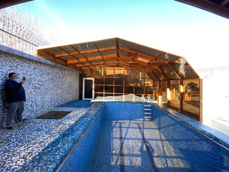 سقف استخر شناء - دماوند - جیلارد