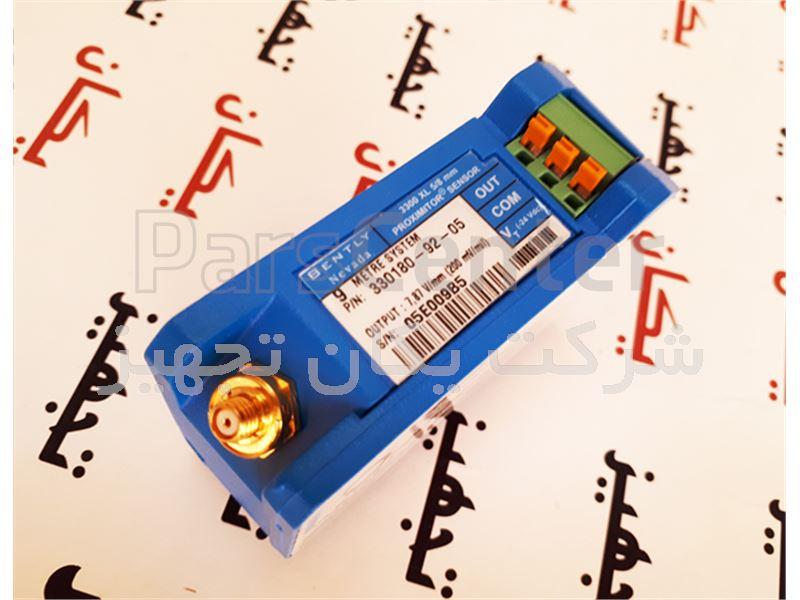 فروش و تامین سنسور القایی اندازه گیری لرزش 9 متری بنتلی نوادا 05-92-330180 Bently Nevada Proximity Sensor