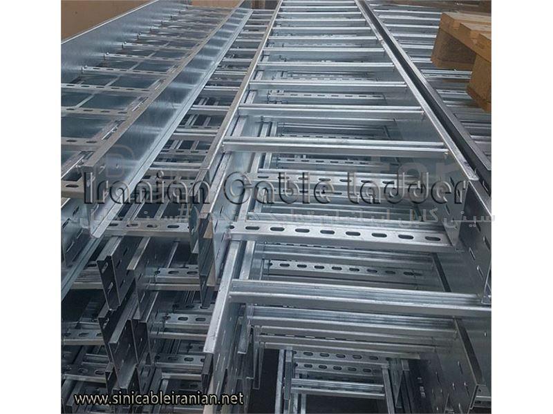نردبان کابل گالوانیزه گرم عرض 20 سانتی متر