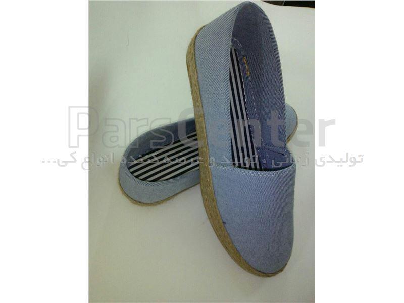 کفش زنانه پارچه ای کد 400