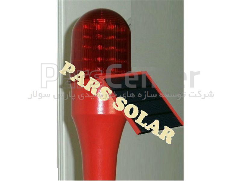 چراغ دکل خورشیدی با 7 لامپ power led
