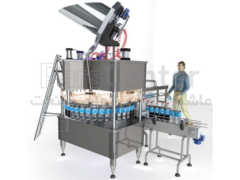 دستگاه پرکن مایعات منو بلوک(پرکن آب معدنی و دوغ)
