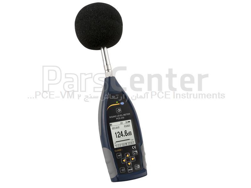 صدا سنج ایمنی محل کار PCE-430