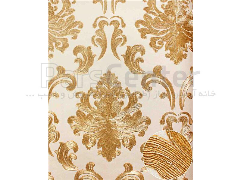کاغذ دیواری الیافی - اکلیلی - برجسته - براق فرانسیس 15