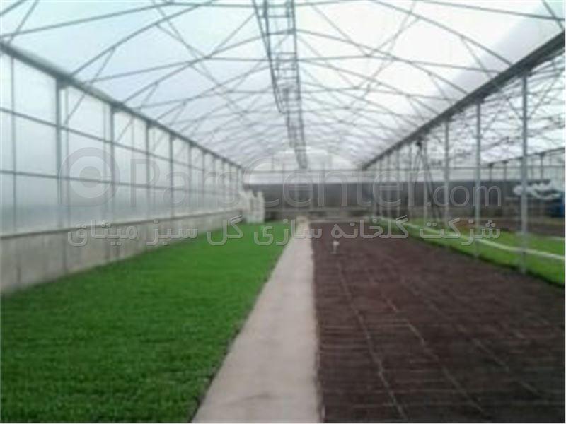 ساخت گلخانه گل سبز میثاق GSM