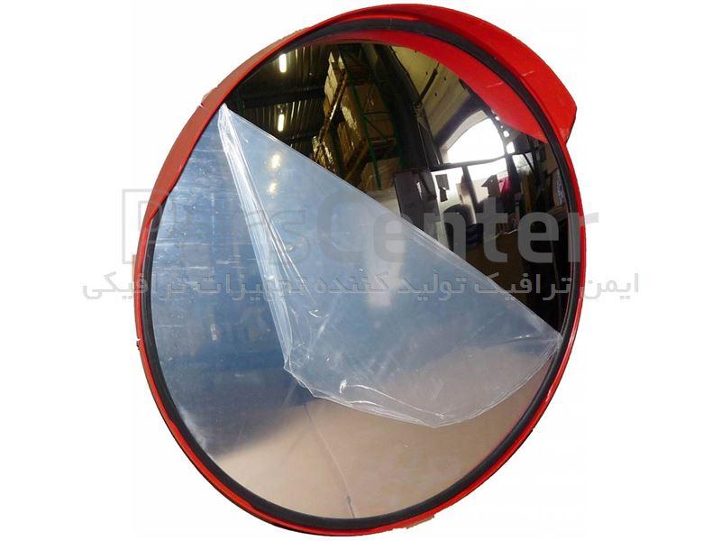 آینه محدب شیشه ای ابرو دار مدل L82