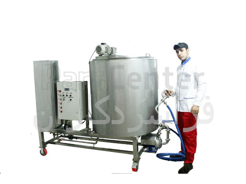 دستگاه پخت شیر 500 لیتری