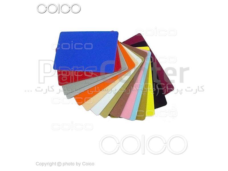 چاپ کارت پی وی سی PVC در شرکت کوآیکو
