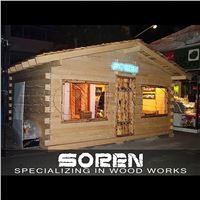 خانه و کلبه چوبی