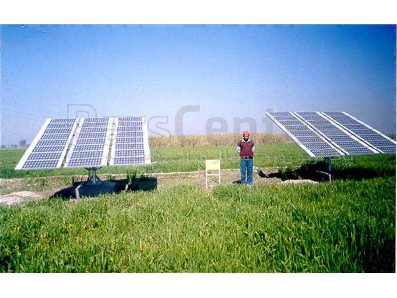پمپ آب خورشیدی سه فاز(13کیلووات 18اسب بخار )2/5اینچ. 200متر عمق آبدهی 8متر مکعب درساعت(همراه پنل)