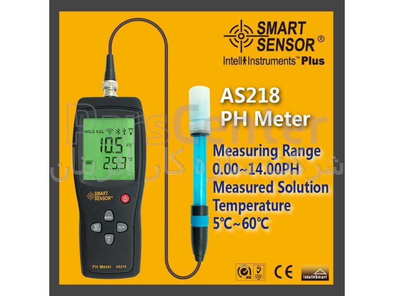 PH متر مدل AS218  اسمارت سنسور - PH METER MODEL AS218 SMART SENSOR