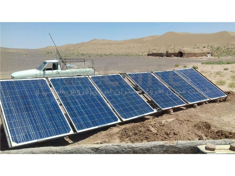 پمپ خورشیدی 104 متری روزکار