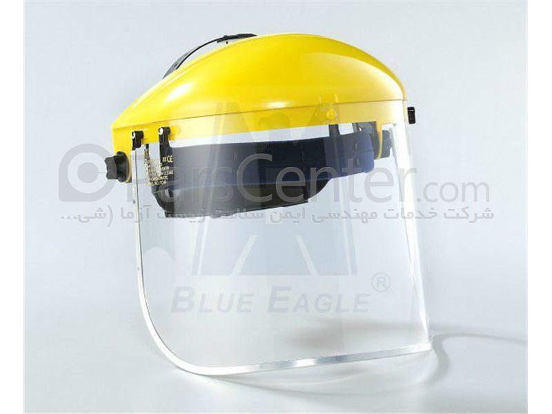 شیلد و طلق ایمنی محافظ در برابر پرتاب ذرات و مایعات شیمیایی BLUE EAGEL