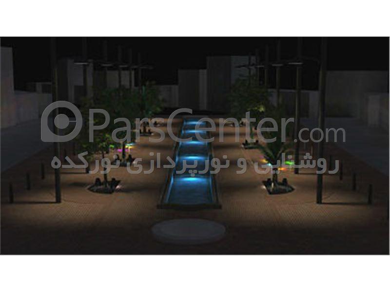 طراحی و اجرای روشنایی و نورپردازی  معابر ،خیابان با led