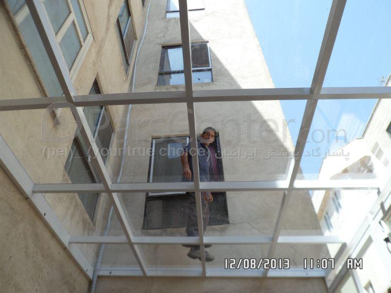 سازه فضایی | دانلود سقف شیشه ای برای سیمز 3 - سازه فضاییکاربردها Patio Roof) سقف پاسیو (تمام شیشه ای ) 397 - محصولات سازه های پیش  ...