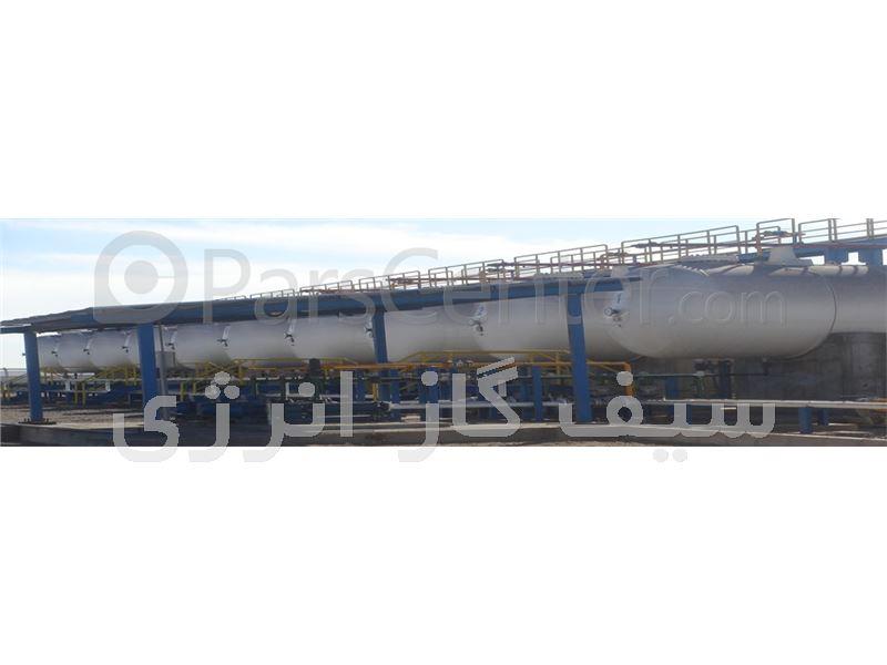 طراحی ساخت واجرای مخازن گازی کارخانجات