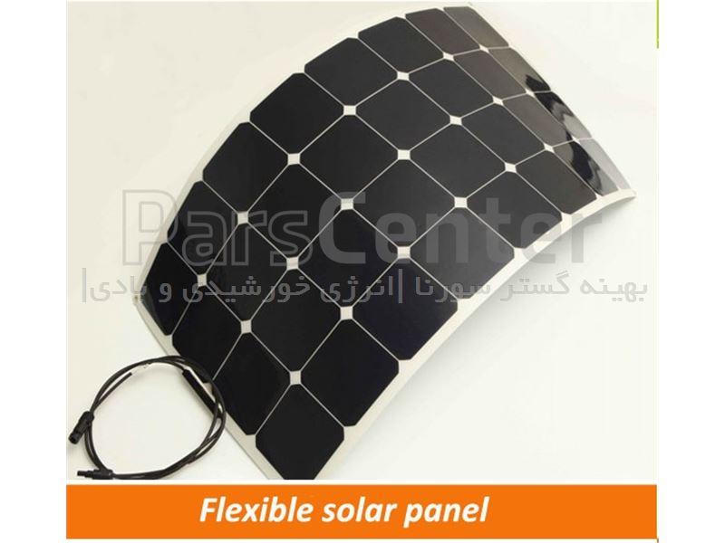 پنل های خورشیدی انعطلاف پذیر Semi-Flexible solar panel