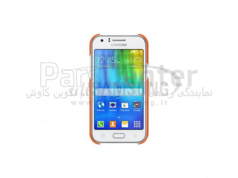Samsung Galaxy J1 Protective Cover Orange پروتکتیو کاور نارنجی گلکسی جی 1 سامسونگ