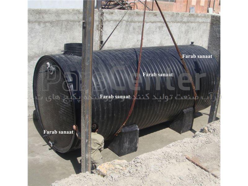 سپتیک تانک پلی اتیلن دو جداره 18 متر مکعب