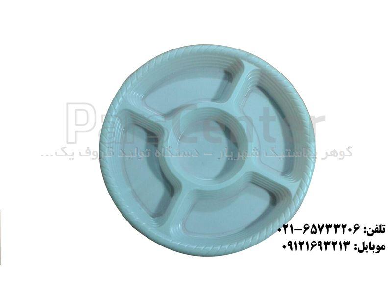 نمونه ظرف بشقاب برای تهیه قالب