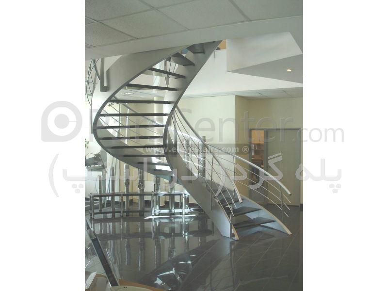 پله گرد دو محور باکس