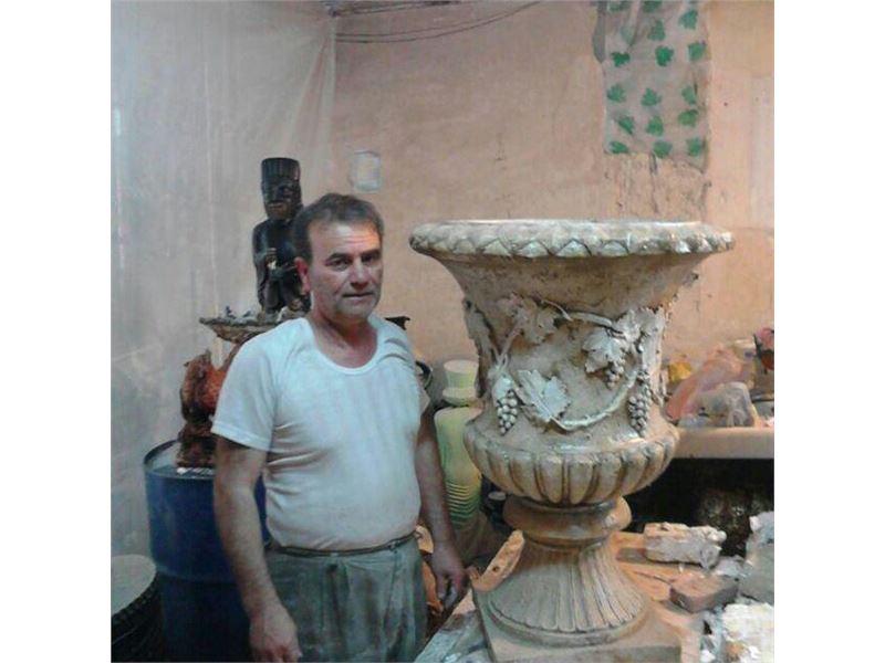 قالب سازی عیسی ، ساخت و فروش قالب های مجسمه از جنس پی وی سی pvc ، ساخت و فروش قالب های سنگ مصنوعی