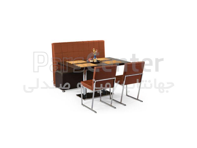 کاناپه رستورانی مدل برلینو (جهانتاب)