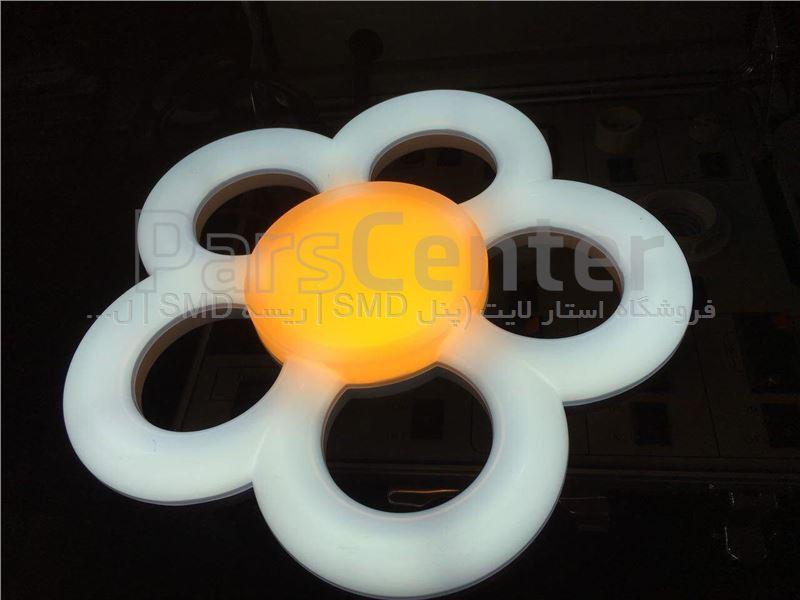 لامپ حبابی طرح گل 38 وات مودی