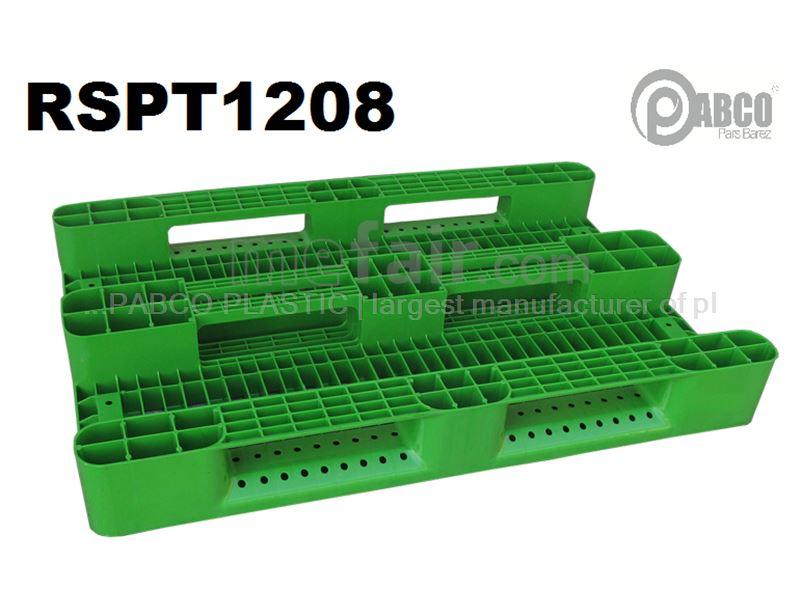 - Plastic pallets Pabco - RSPT1208 800×1200×150 mm