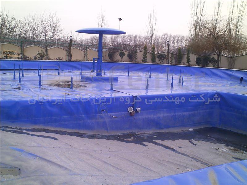 ساخت دریاچه تفریحی با ورق ژئوممبران،شهریار