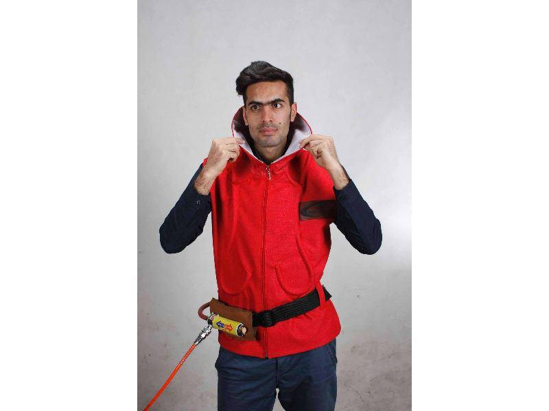 لباس خنک کننده ورتکس (با استفاده از ورتکس تيوب- Vortex Cooling Vest)