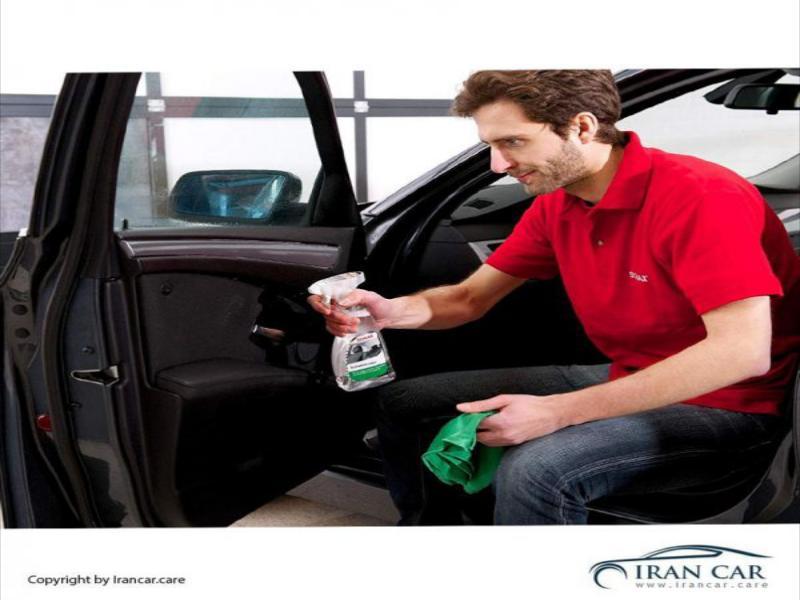 اسپری تمیز کننده داخل اتومبیل سوناکس | irancar.care