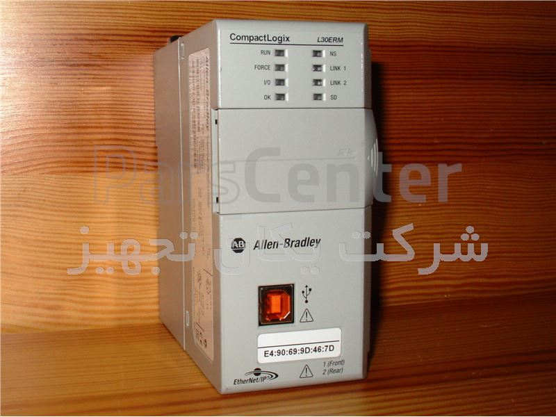 پی ال سی آلن بردلی Allen Bradley CompactLogix 5370 Processor Integrated Motion 1769-L30ERM