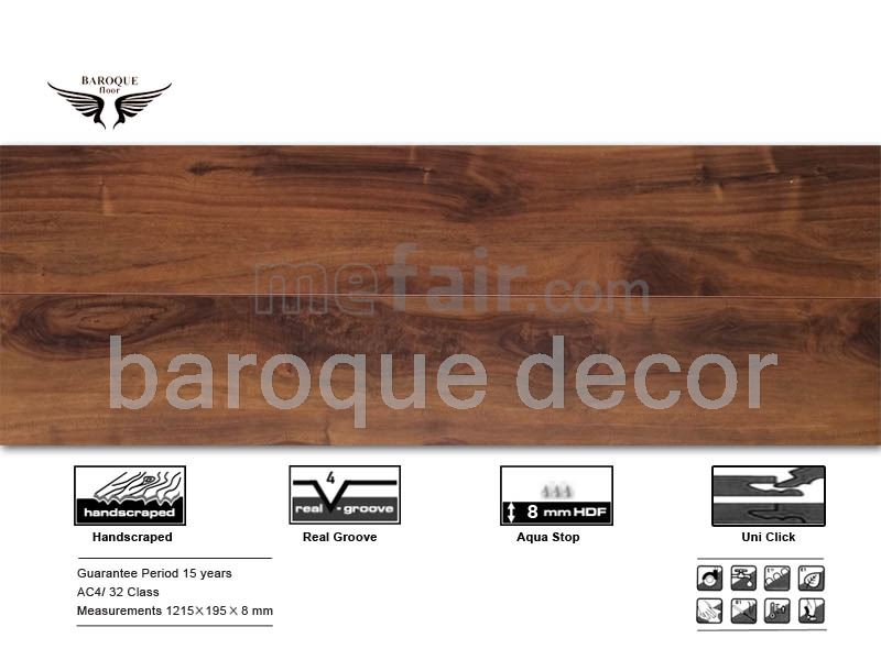 Baroque laminate flooring