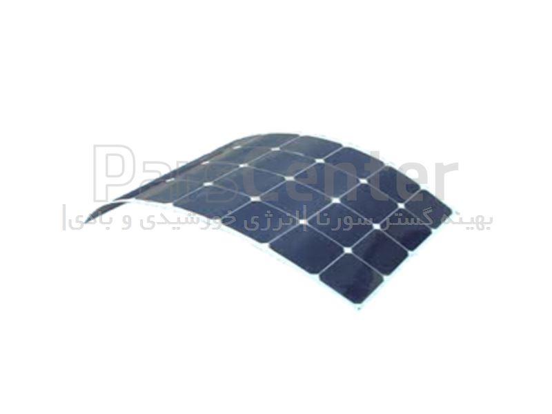 پنل های خورشیدی منو کریستال انعطلاف پذیر_فلکسی تاشو Semi-Flexible solar panel